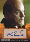 Michael Ironside as GEN Ashdown Autograph Card from Terminator Salvation