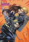 Women of Marvel 2 E21 Embrace Card - Black Widow & Hawkeye