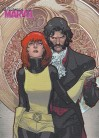 Women of Marvel 2 E37 Embrace Card - Jean Grey & Mastermind